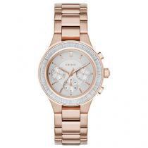 Relógio Feminino DKNY Fashion NY2396/4CN - Anadigi Resistente à Água com Data