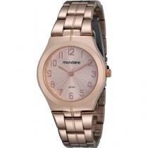 Relógio Feminino Mondaine 94533LPMTRS3 - Analógico Resistente a Água