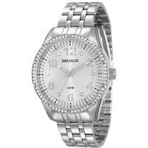 Relógio Feminino Seculus 28616L0SVNS2 Analógico - Resistente à Água