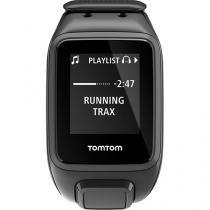 Relógio Fitness com GPS e Música TomTom Preto - Spark Large MoS Resistente à Água