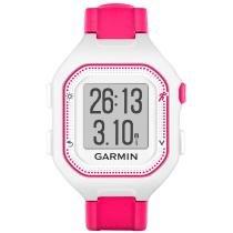 Relógio Garmin Forerunner 25 com Notificações e GPS 1353-71 Branco/Rosa - Garmin