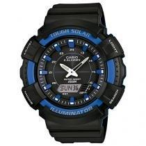 Relógio Masculino Casio AD-S800WH-2A2VD - Anadigi Resistente à Água com Calendário