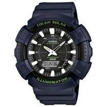 Relógio Masculino Casio AD-S800WH-2AVDF - Anadigi Resitente à Água com Calendário
