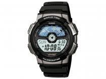 Relógio Masculino Casio AE-1100W-1AVDF - Digital Resitente à Água com Data