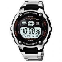 Relógio Masculino Casio AE 2000WD 1A Digital - Cronógrafo Resistente à Arranhões e Água