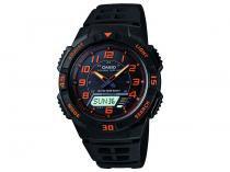 Relógio Masculino Casio AQ-S800W-1B2VDF - Anadigi Resistente à Água Calendário