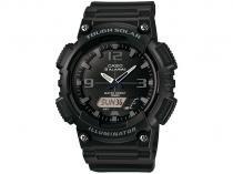 Relógio Masculino Casio AQ-S810W-1A2VDF - Anadigi Resitente à Água com Calendário