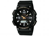 Relógio Masculino Casio AQ-S810W-1BVDF - Anadigi com Cronômetro e Calendário