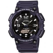 Relógio Masculino Casio AQ-S810W-2A2VDF - Anadigi Resitente à Água com Calendário