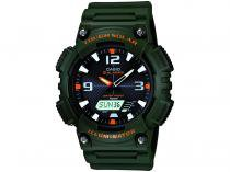 Relógio Masculino Casio AQ-S810W-3AVDF - Anadigi com Cronômetro e Calendário