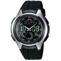 Relógio Masculino Casio AQ160W1BVD Anadigi - com Cronógrafo e Calendário Resistente à Água