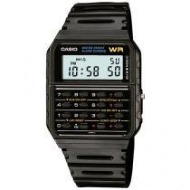 Relógio Masculino Casio CA-53W-1Z - Digital Resistente á Água com Cronógrafo e Data