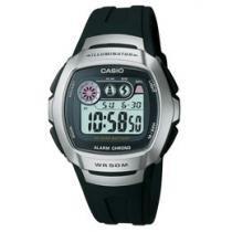 Relógio Masculino Casio Mundial W-210-1AV Digital - com Cronômetro Resistente à Água