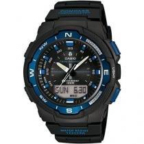 Relógio Masculino Casio Outgear SGW-500H-2BVDR - Anadigi Resitente à Água Calendário