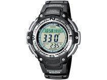 Relógio Masculino Casio SGW-100-1VDF Digital - Resistente à Arranhões com Cronógrafo e Bússola