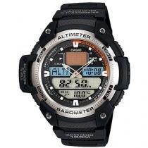 Relógio Masculino Casio SGW-400H-1BVDR - Anadigi Resistente à Água Cronômetro Calendário