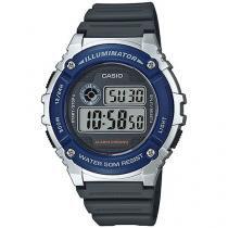 Relógio Masculino Casio W-216H-2AVDF - Digital Resitente à Água com Data