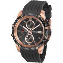 Relógio Masculino Magnum MA33568P - Analógico Resistente à Água Cronógrafo