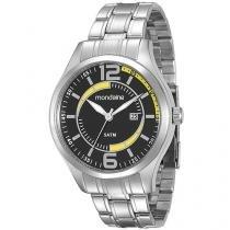 Relógio Masculino Mondaine 78588G0MGNA1 - Analógico Resistente à Água com Data