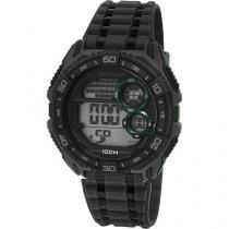 Relógio Masculino Mormaii MO13617/8V Digital - Resistente à Água Cronômetro Calendário Alarme