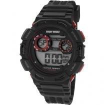 Relógio Masculino Mormaii MO1463/8R Digital - Resistente à Água Cronômetro Calendário Alarme