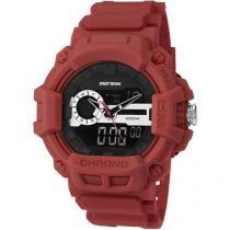 Relógio Masculino Mormaii MOAD1105A/8R Anadigi - Resistente à Água com Cronômetro e Calendário