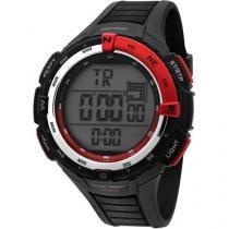 Relógio Masculino Mormaii YP12574/8R - Digital Resistente à Água Cronógrafo Calendário