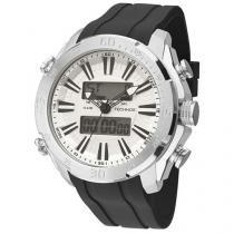 Relógio Masculino Technos 0527AD/8P Analógico - Resistente á Àgua Cronômetro Alarme Calendário