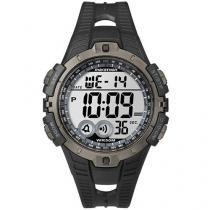 Relógio Masculino Timex Marathon T5K802WW/TN - Digital Resistente à Água c/ Cronômetro Calendário