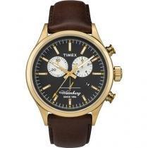 Relógio Masculino Timex TW2P75300W Analógico - Resistente à Água com Cronógrafo