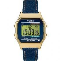 Relógio Masculino Timex TW2P77000WW Digital - Resistente à Água com Cronômetro e Calendário