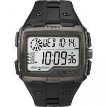 Relógio Masculino Timex TW4B02500WW Digital - Resistente à Água com Cronômetro e Calendário