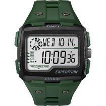 Relógio Masculino Timex TW4B02600WW Digital - Resistente à Água com Cronômetro e Calendário
