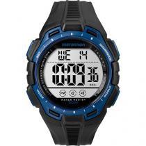 Relógio Masculino Timex TW5K94700WW Digital - Resistente à Água com Cronômetro e Calendário