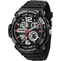 Relógio Masculino X-Games XMPPA155 - Anadigi Resistente à Água Cronógrafo Calendário
