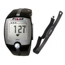 Relógio Monitor Cardíaco Polar FT1 - Hearttouch e Memória para Treino