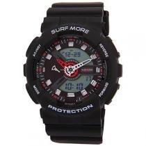 Relógio Surf More 4016391M Masculino - Esportivo Anadigi com Calendário e Cronômetro