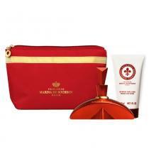 Rouge Royal Eau de Parfum Marina de Bourbon - Perfume Feminino + Loção Corporal + Nécessaire - Marina de Bourbon