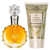 Royal Marina Diamond Marina de Bourbon - Feminino - Eau de Parfum - Perfume + Loção Corporal - Marina de Bourbon