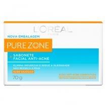 Sabonete Facial Anti Acne Pure Zone Dermo Expertise Loréal Paris - Limpadores Faciais - 70g - LOréal Paris