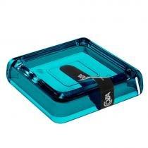 Saboneteira Cube 10x10x2cm Verde 20875/0129 - Coza - Coza