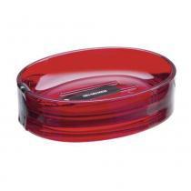 Saboneteira Spoom 11x9x3cm Vermelha 20857/0111 - Coza - Coza