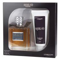 Sandel Oud Eau de Toilette Lonkoom - Perfume Masculino 100ml + Gel de Banho 100ml - Lonkoom
