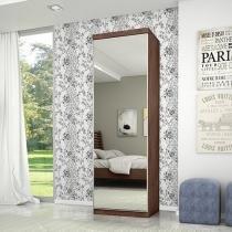 Sapateira 1 Porta 9 Prateleiras - com Espelho Robel Móveis Supreme