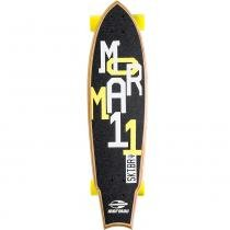 Skate Fishtail Cruiser Rolamentos Abec 7 4996 Amarelo - Mormaii - Belfix