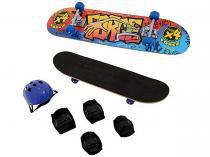 Skate Infantil 640.9 - com Acessórios Xalingo