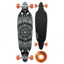 """Skate Longboard Bob Burnquist 39"""" Caveiras Verde - Multilaser - Multilaser"""