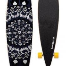 "Skate Longboard Bob Burnquist 46"" Caveiras Azul - Multilaser - Multilaser"