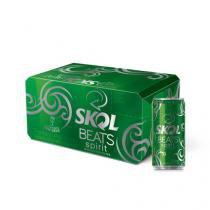 Skol Beats Spirit Lata 269 ML Caixa com 8 unidades Skol