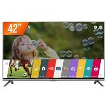 "Smart TV 3D LED 42"" LG Full HD 3 HDMI 3 USB Wi-Fi Integrado Conversor Digital 42LF6450 + 4 Óculos 3D - Lg"